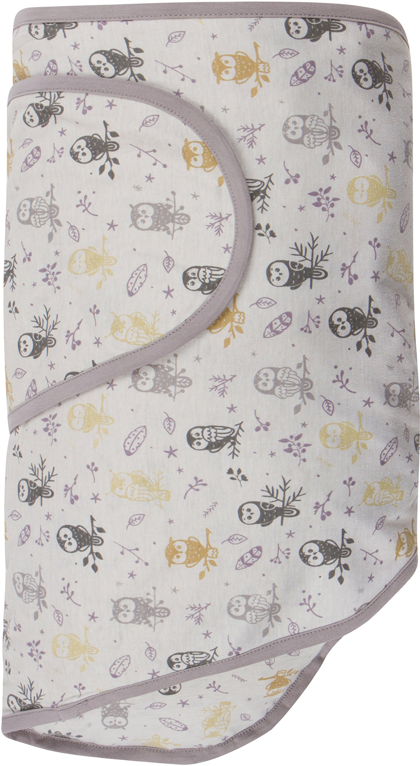 Miracle Blanket Swaddle Unisex Baby, Forest Owls, Newborn to 14 Weeks by Miracle Blanket