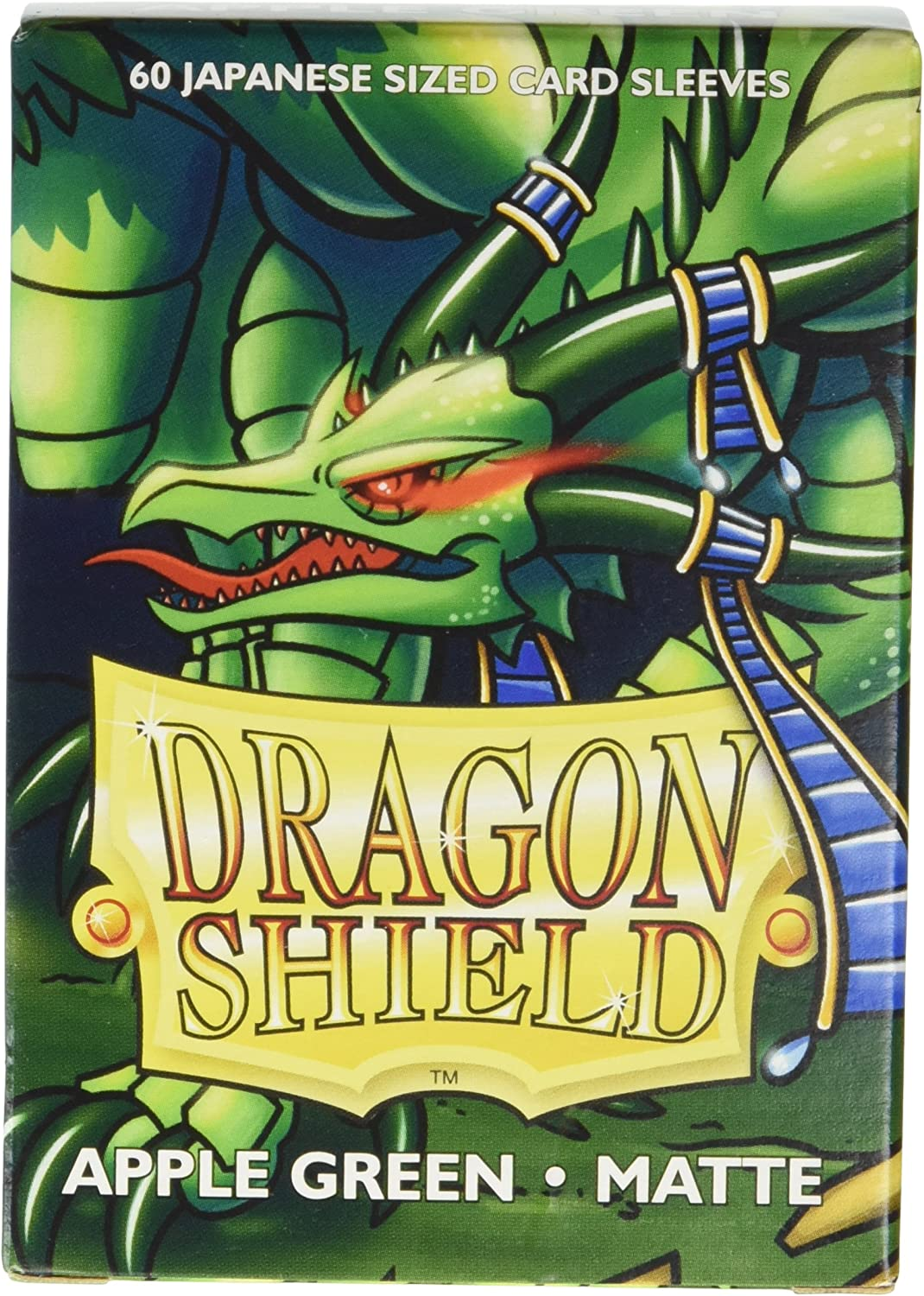 Dragon Shield Sleeves - Matte Japanese Apple Green (60) Card Sleeves