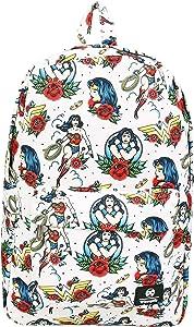 Loungefly DC Comics Wonder Woman Floral Print Backpack Standard