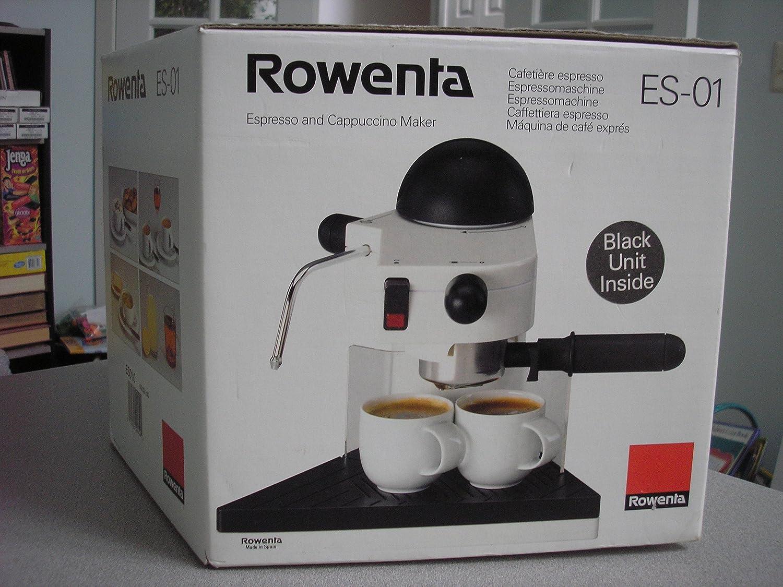 Rowenta Espresso and Cappuccino Maker ES-01 Marrón cafetera ...