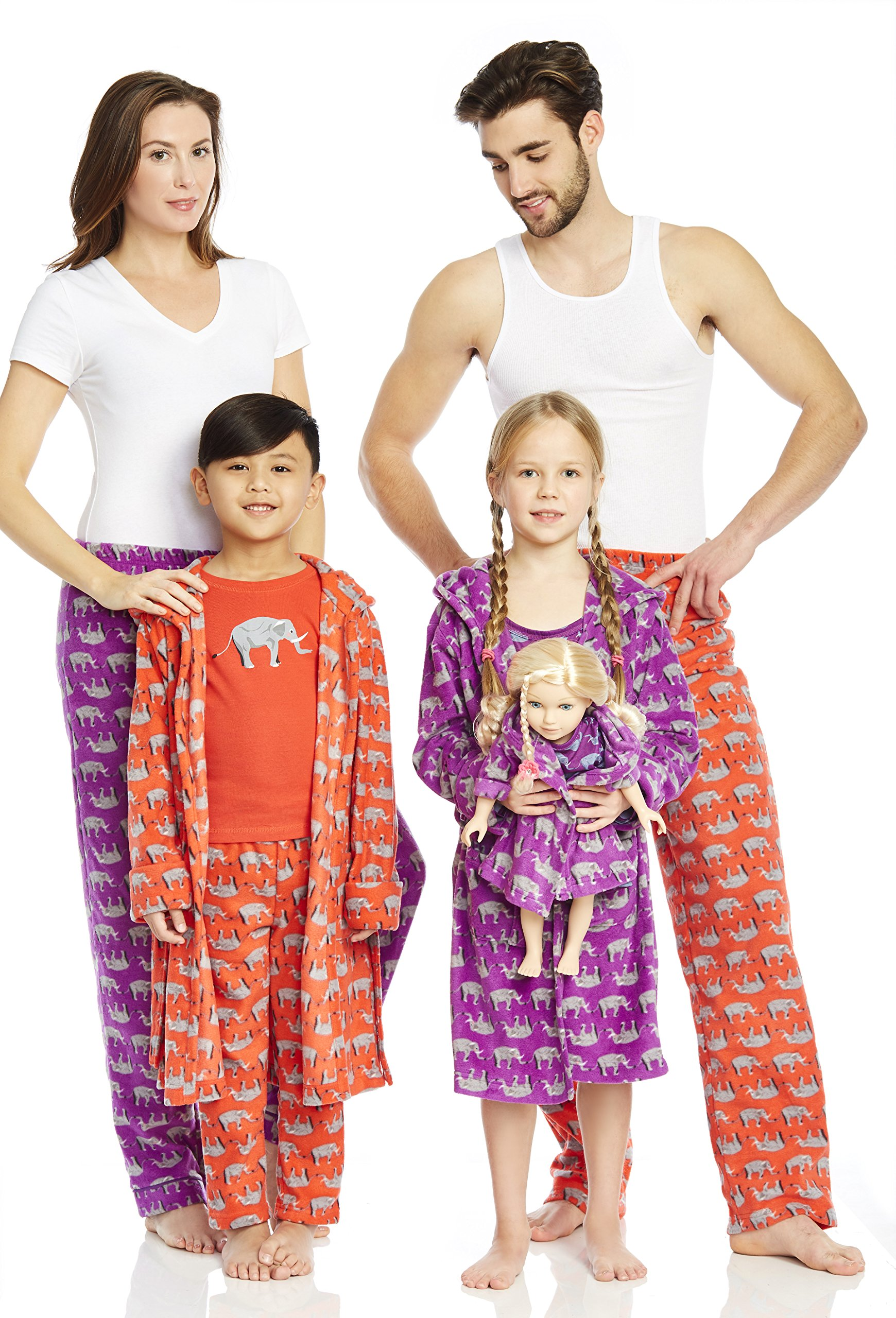 Leveret Matching Doll & Girls Nightgown Kids & Toddler Pajamas Unicorn Sleepwear (4-14 Years) Fits American Girl Doll