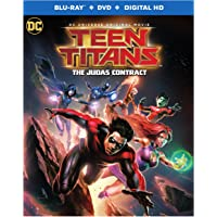 Warner Home Video Teen Titans-Judas Contract (Blu-ray + DVD + UltraViolet)