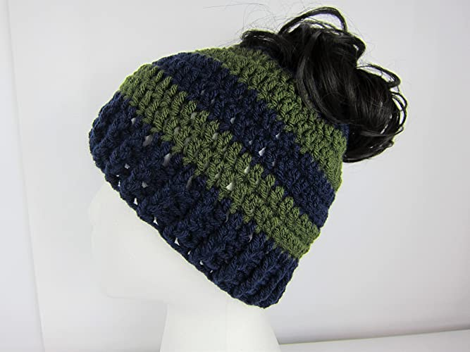 7c3cddf18fe7f Image Unavailable. Image not available for. Color  Messy Bun Hat