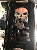Skull Bell Hanger / Mount for Motorcycle Bolt & Ring Included fits all bikes Road King Street Glide Harley Davidson