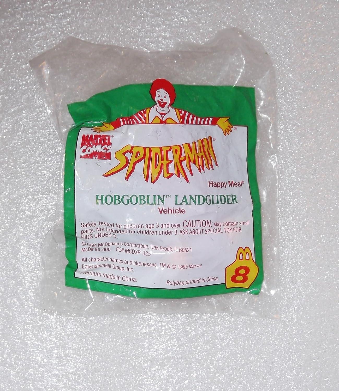 Amazon com: McDonalds Spider-Man Hobgoblin LandGlider Figure