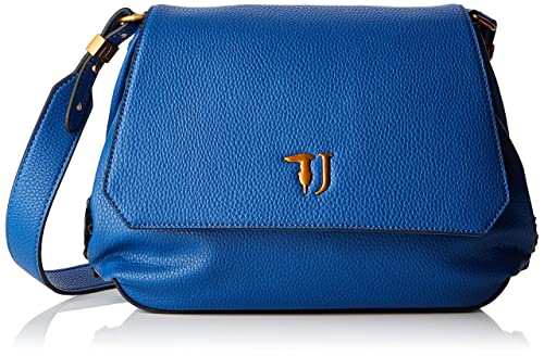 97c600df63 Trussardi Jeans Lavanda Shoulder Bag, bolso bandolera para Mujer, Azul  (Bluette),