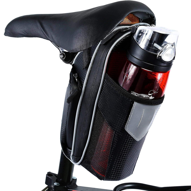 Selighting Bolsa de Sillin Bicicleta, Bolsa Bicicleta Montaña ...