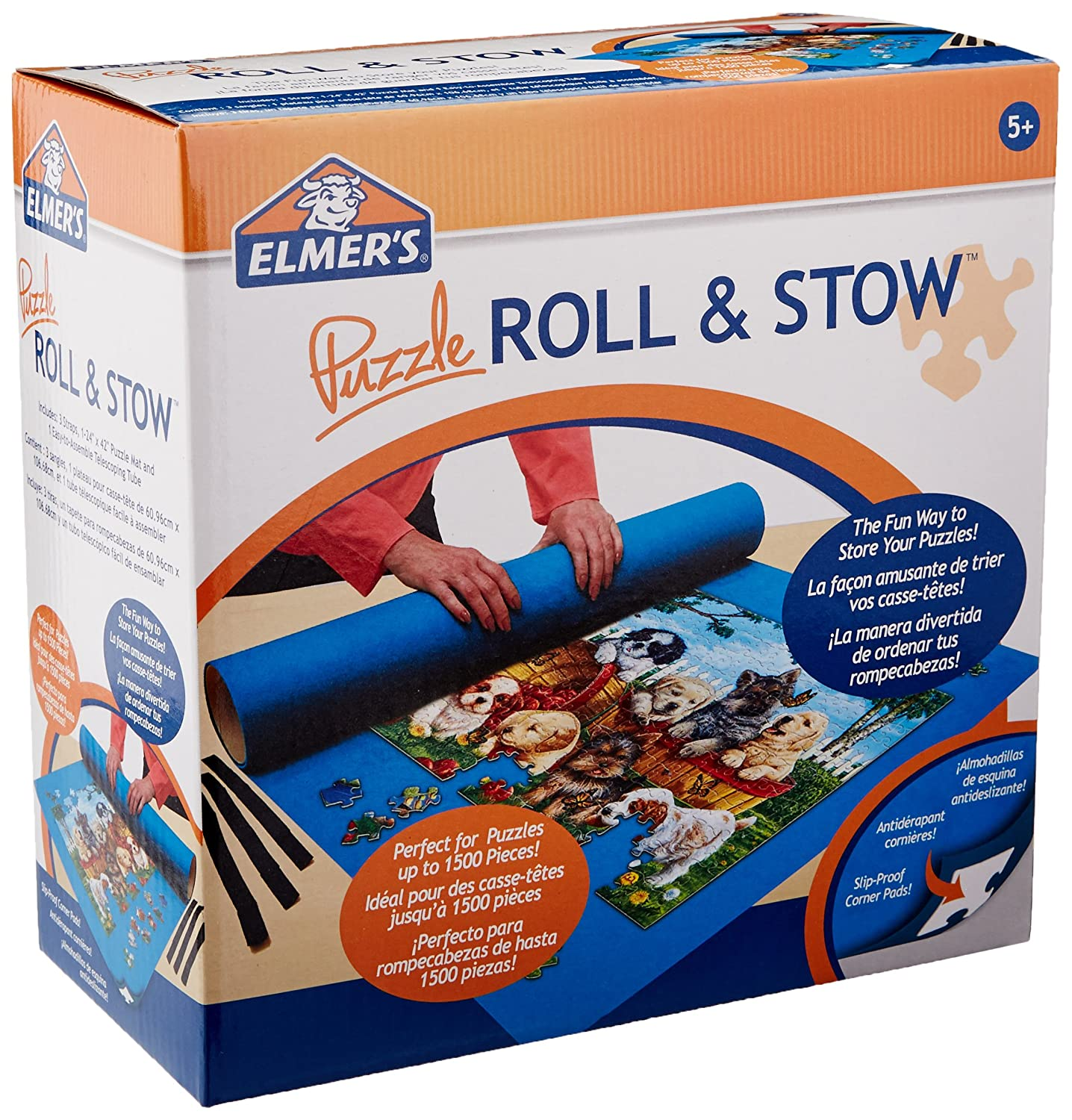 MasterPieces Elmer's Puzzle Roll Stow