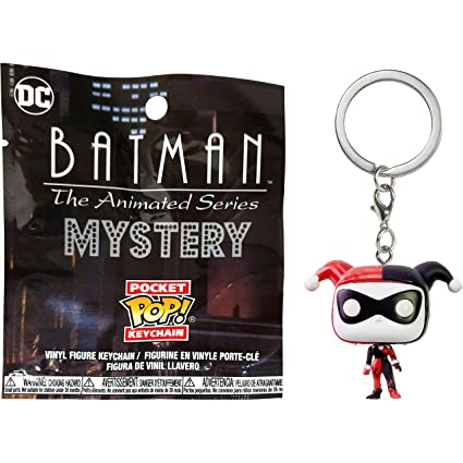 Amazon.com: Funko Harley Quinn Mystery Pocket POP! x Batman ...