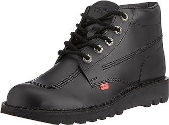 b3676063e29525 Kickers Kick Hi Core Mens Boots Black