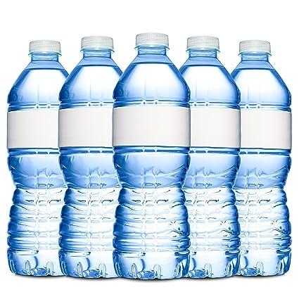Amazoncom Quality Label Company Water Bottle Labels Blank - Blank water bottle label template