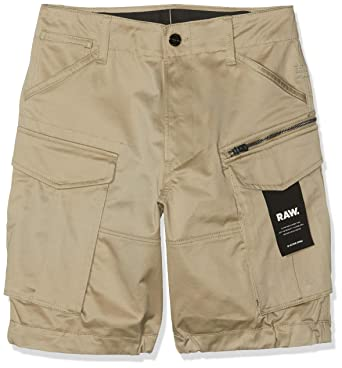 Afholte G-STAR RAW Men's Rovic Zip Relaxed 1\2 Short: Amazon.co.uk: Clothing IR-79