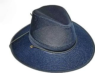 product image for Henschel Hats Aussie Breezer 5310 Cotton Mesh Hat, Boxed (Navy, Medium Boxed)