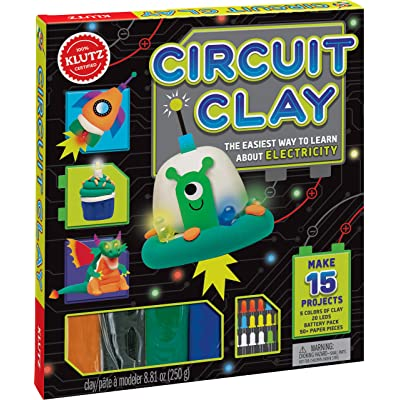 Klutz Circuit Clay Science Kit: Editors of Klutz: Toys & Games