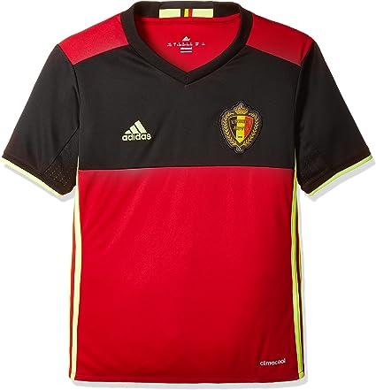 adidas RBFA H JSY Y - Camiseta para niño, Color Negro/Rojo/Amarillo: Amazon.es: Ropa y accesorios