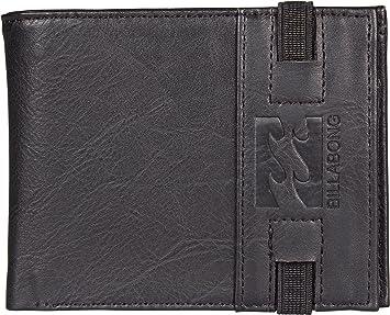 BILLABONG Locked Wallet, Bolsa y Cartera para Hombre, Negro (Black) 1x1x1 cm (W x H x L): Amazon.es: Zapatos y complementos