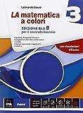 La matematica a colori. Vol. 3B. Ediz. blu. Per le Scuole superiori. Con e-book. Con espansione online