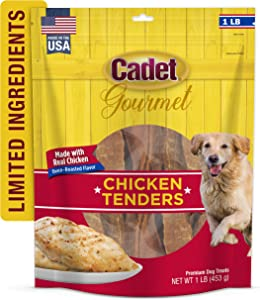 Cadet Gourmet Chicken Tenders for Dogs 1 lb.