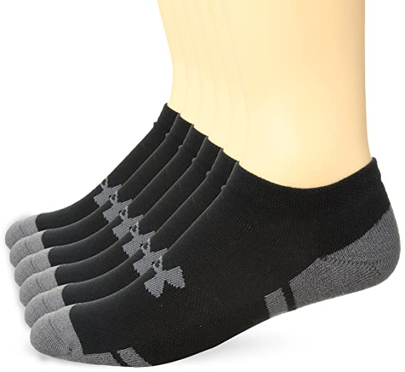 f09a14ee6364 Under Armour Men's Resistor 3.0 No Show Socks