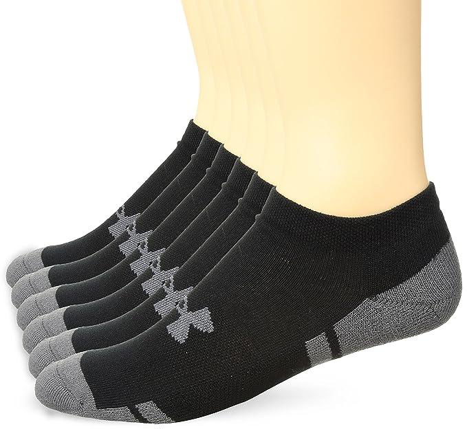 NEW UNDER ARMOUR Training Men/'s UA Resistor No-Show Socks 6-PAIRS Sizes M L XL