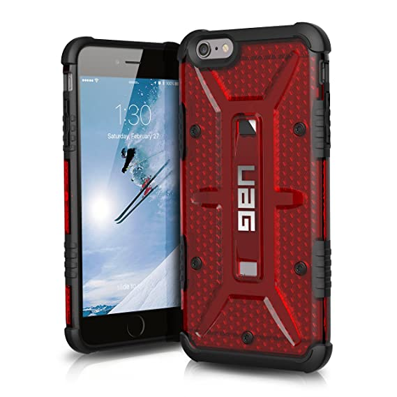 check out 520ea b80c5 UAG iPhone 6 Plus / iPhone 6s [5.5-inch screen] Plus Feather-Light  Composite [MAGMA] Military Drop Tested iPhone Case