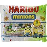 Haribo Mixed Minions Multipack Bags 352 g (Pack of 10)