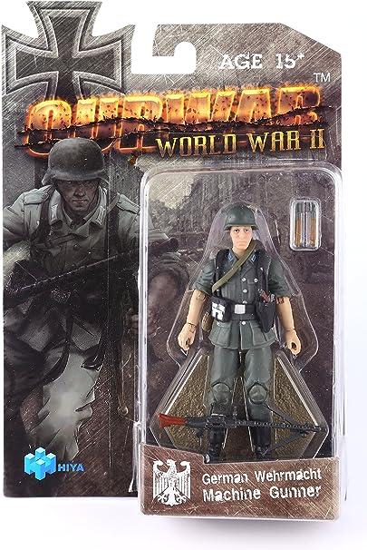 """OURWAR Hiya Toys WWII German Wehrmacht Assistant Gunner 3.75/"""""""