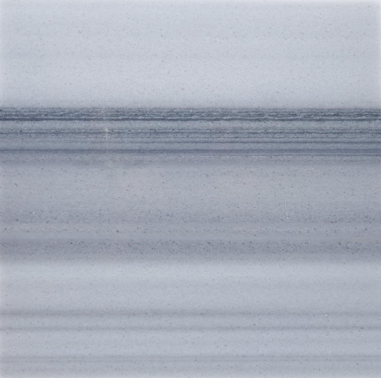 SAMPLE Polished Mink Marmara Equator Marble 12 X 12 Field Tile