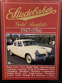 Studebaker, 1947-1966 Gold Portfolio (Brooklands Road Tests)