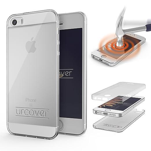 7 opinioni per URCOVER® 360 Grad Case Cover Protettiva | Custodia Apple iPhone SE / 5 / 5s |