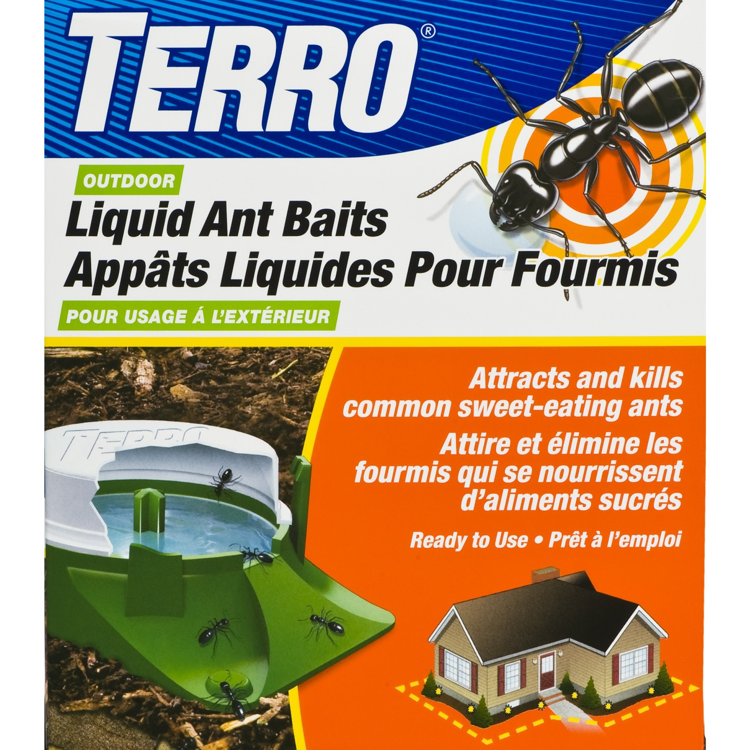 TERRO Outdoor Liquid Ant Baits T1806CAN product image