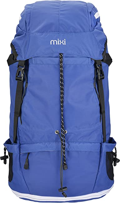 Outdoor Backpack Large Capacity 45L Color : Blue, Size : 45L 60L Travel Backpack Outdoor Mountaineering Bag
