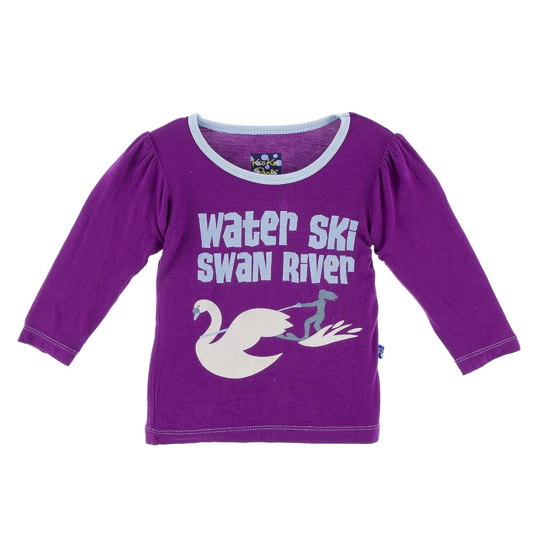【予約販売】本 KicKeeパンツLittle Girls Long Sleeve Piece印刷Puff Sleeve Tee Waterski 2T Starfish Waterski Girls Swan River Stack B07613R54S, 山東町:d9b7c039 --- narvafouette.eu