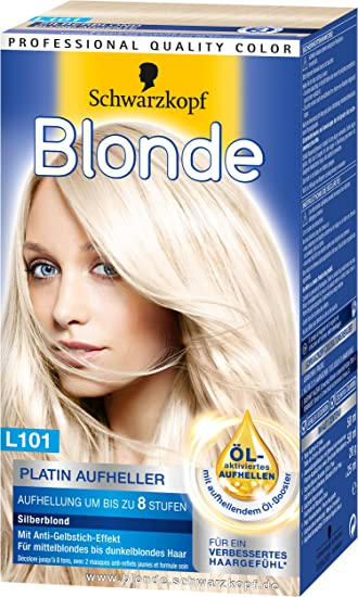 Blonde L101 Platin Aufheller Silberblond 3er Pack 3 X 170 Ml