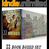 22 Book Boxed set: 22 Brides Ride West