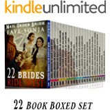 22 Book Boxed set: 22 Brides Ride West