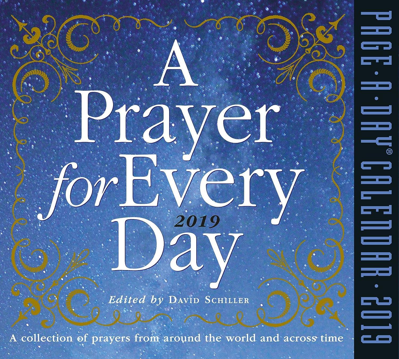 Amazon com : A Prayer for Every Day Page-A-Day Desk Calendar 2019