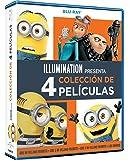 Pack: Gru 1-3 + Minions [Blu-ray]