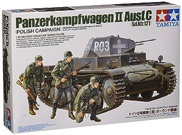 Tamiya 35299 - Maqueta Para Montar, Tanque Alemán Panzerkampfwagen II Ausf. C Escala 1/35