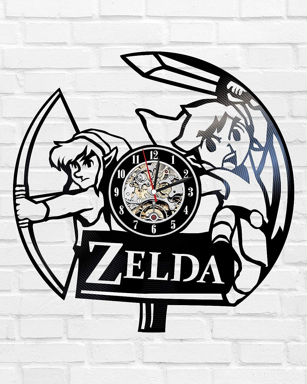 Kovides - Reloj de Pared con diseño de la Leyenda de Zelda ...