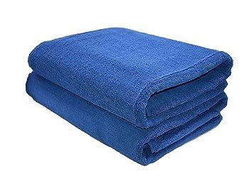 Hashcart Suave Absorbente Toalla de algodón Hojas/Hojas de baño/baño toallitas/Blanco algodón Toalla de baño Conjuntos para baño, Playa, SPA: Amazon.es: ...