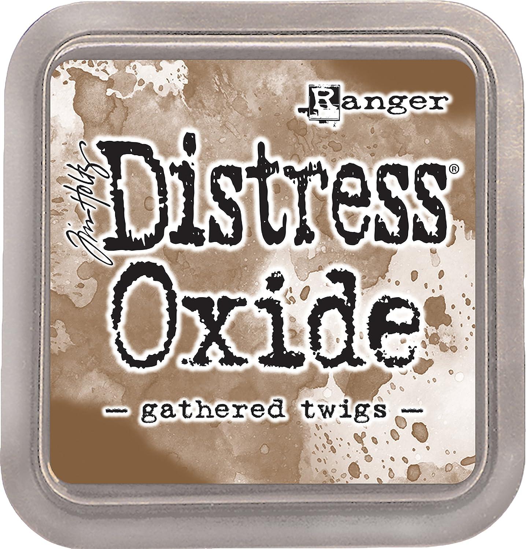 Ranger Festive Berries-a 2x2 Raised Water-Reactive Dye Ink Tim Holtz Distress Oxide Pad Dried Marigold Yellow ys//m