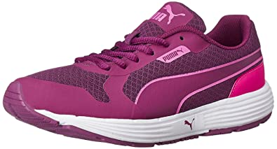Puma Women s Future Runner II WN s Idp Magenta Purple and Pink Glow Running  Shoes - 4 6615c6c956