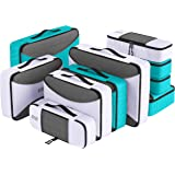 PRO Packing Cubes for Travel | 10 Piece Luggage Organizer Set | Premium Quality Travel Cubes for Packing Suitcase, Carry-on,