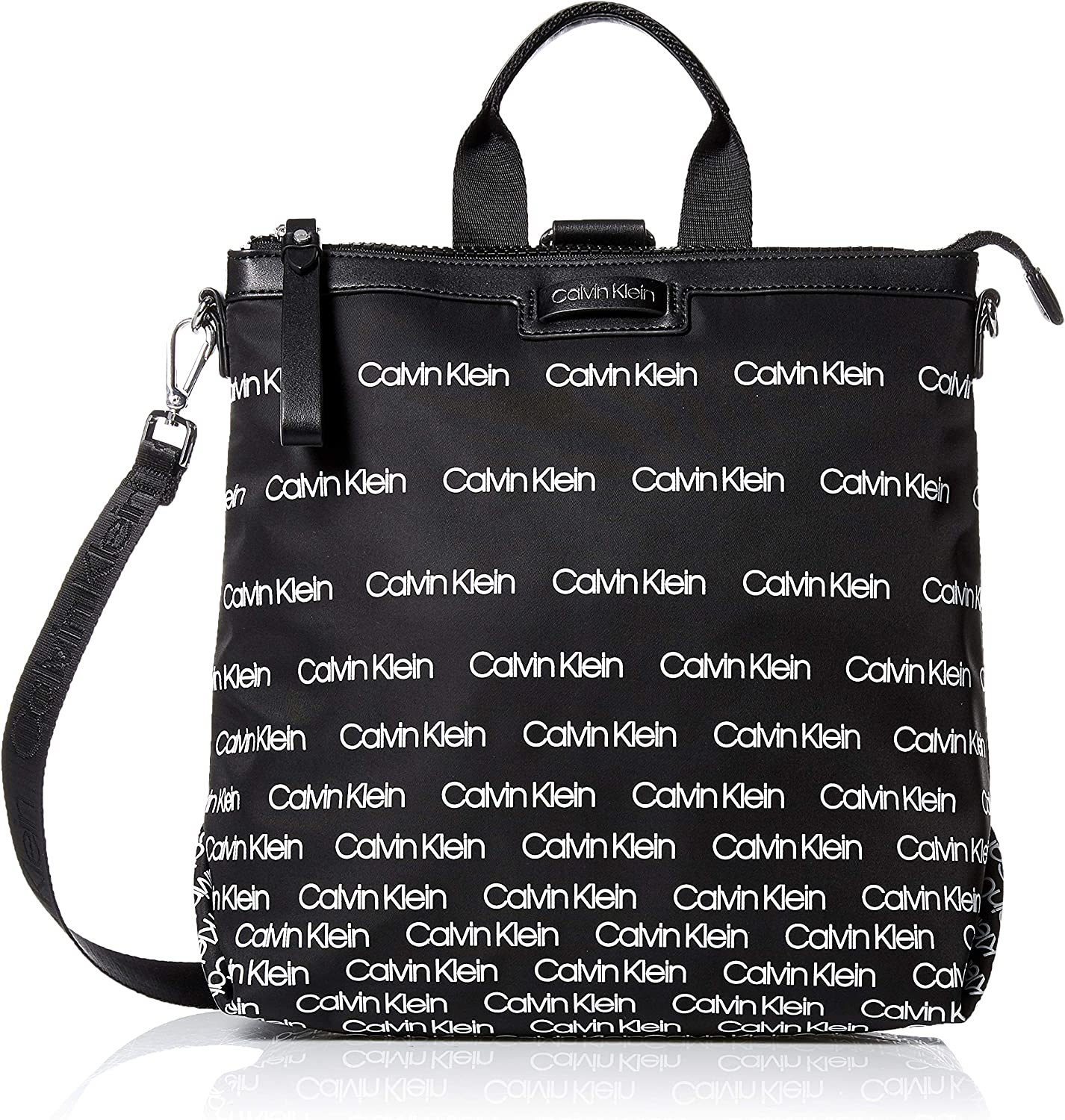 Calvin Klein Lane Nylon Boxy Top Zip Backpack