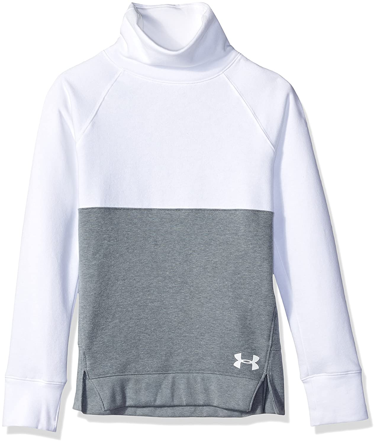 Under Armour Girls Rival Slouchy Crew Under Armour Apparel 1317844-P