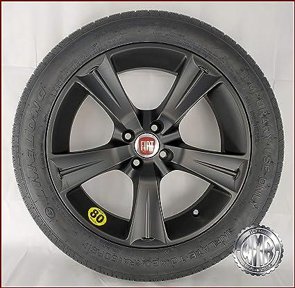 sp154100 rueda de repuesto de aleación + Neumático 155 70 R17 para Fiat Punto EVO: Amazon.es: Coche y moto