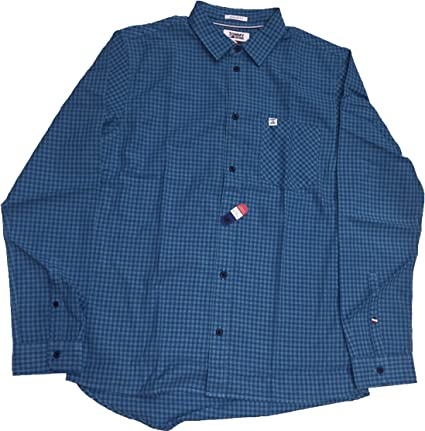 Tommy Hilfiger - Essential GINGHA - Camisa Cuadros PEQUEÑOS ...