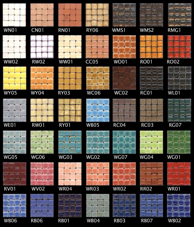 5x5x3mm Mini-Mosaicos MXAL 1.000 teselas Colourmix