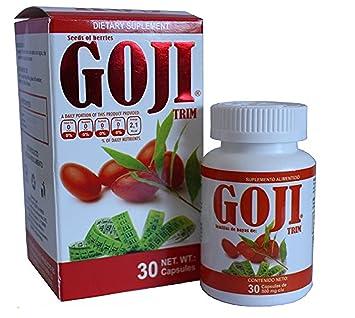 pastillas bayas de goji